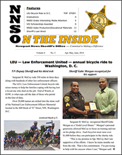NNSO Newsletter Cover